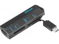 Кардридер TRUST USB Type-C BLACK