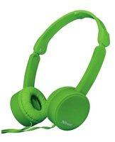 Навушники Trust Nano On-Ear Mic Green