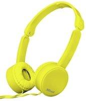 Навушники Trust Nano On-Ear Mic Yellow