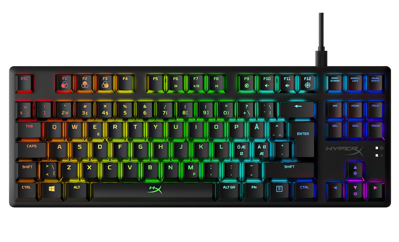 Игровая клавиатура HyperX Alloy Origins Core USB (HX-KB7RDX-RU) фото 1