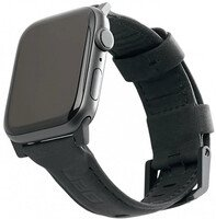 Ремешок UAG для Apple Watch 44/42 Leather Strap Black