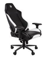 Кресло игровое 2E GC24 Black/White