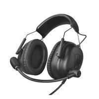 Наушники Trust GXT 444 Wayman Pro Gaming Headset BLACK