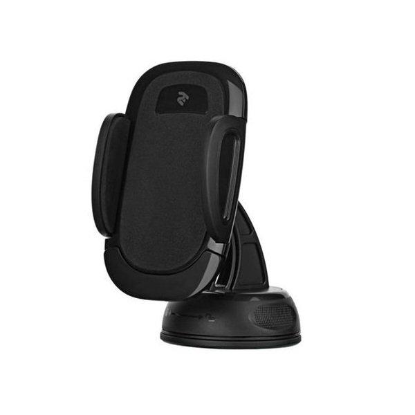 Автомобильный держатель 2E CH0101 для смартфонов Semi-Automatic Black фото 1