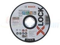 Круг отрезной Bosch X-LOCK Multi (2608619270)