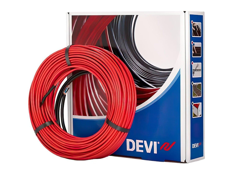 Тепла підлога DEVI Flex двожильний нагрівальний кабель 10T 2м (140F1215) фото