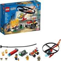 Конструктор LEGO City Пожежний рятувальний вертоліт (60248 L)