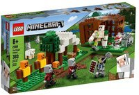 Конструктор LEGO Minecraft Аванпост разбойников (21159)