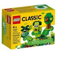 Конструктор LEGO Classic Набор для конструирования зелёный (11007)