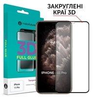 Защитное стекло MakeFuture для для Apple iPhone 11 Pro 3D (MG3D-AI11P)