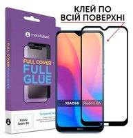 Стекло MakeFuture для Xiaomi Redmi 8A Full Cover Full Glue
