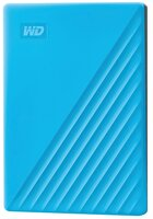 """Жесткий диск WD 2.5"""" USB3.2 Gen 1 My Passport 2TB Blue (WDBYVG0020BBL-WESN)"""