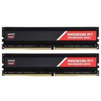 Пам'ять для ПК AMD DDR4 2800 16GB KIT (8GBx2) Heat Shield (R9S416G2806U2K)