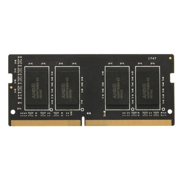 Купить Оперативная память - ОЗУ, Память для ноутбука AMD DDR4 2400 4GB SO-DIMM (R744G2400S1S-U)
