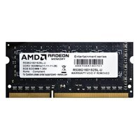 Пам'ять для ноутбука AMD DDR3 1600 8GB 1.35V SO-DIMM (R538G1601S2SL-U)