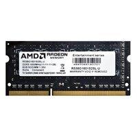 Память для ноутбука AMD DDR3 1600 8GB 1.35V SO-DIMM (R538G1601S2SL-U)