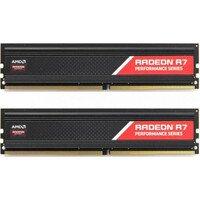 Пам'ять для ПК AMD DDR4 2400 16GB KIT (8GBx2) Heat Shield (R7S416G2400U2K)