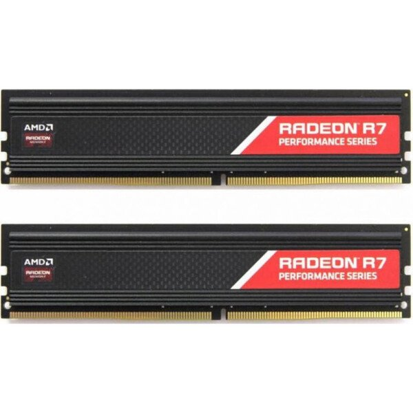 Купить Оперативная память - ОЗУ, Память для ПК AMD DDR4 2400 16GB KIT (8GBx2) Heat Shield (R7S416G2400U2K)