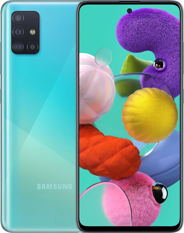 Смартфон Samsung Galaxy A51 (A515F) 4/64GB DS Blue фото 1