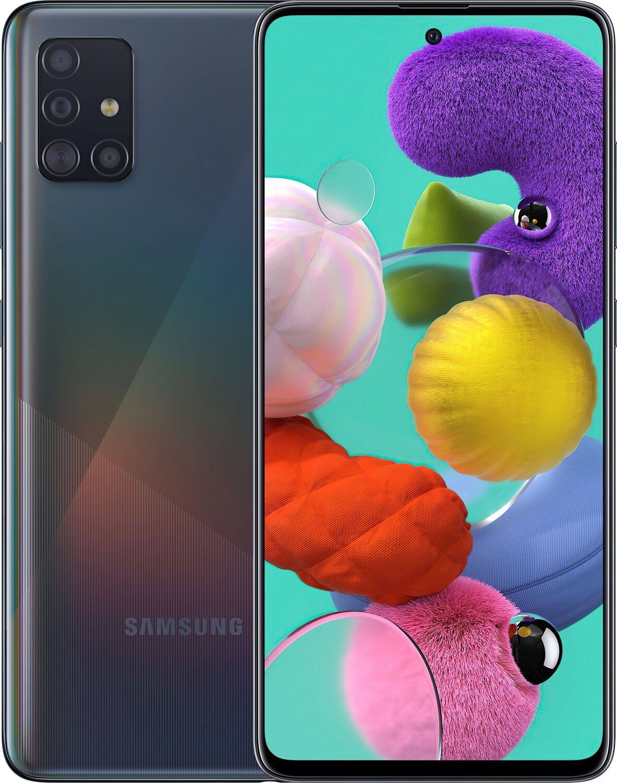 Смартфон Samsung Galaxy A51 (A515F) 6/128GB DS Black фото 1