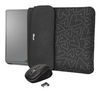 """<p>Чохол + миша Trust YVO Mouse and Sleeve 15.6"""" Black-hearts</p>"""