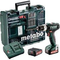 Акумуляторний ударний дриль-шуруповерт Metabo PowerMaxx SB 12 Set