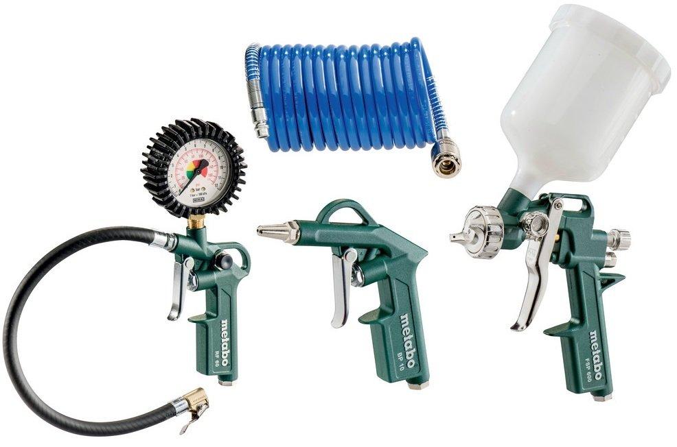 Набор пневматического инструмента Metabo LPZ 4 Set фото