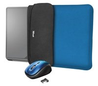 """<p>Чохол + миша Trust YVO Mouse and Sleeve 15.6"""" Blue</p>"""