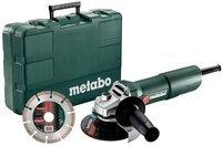 Шлифмашина угловая Metabo W 750-125 Set (603605510)