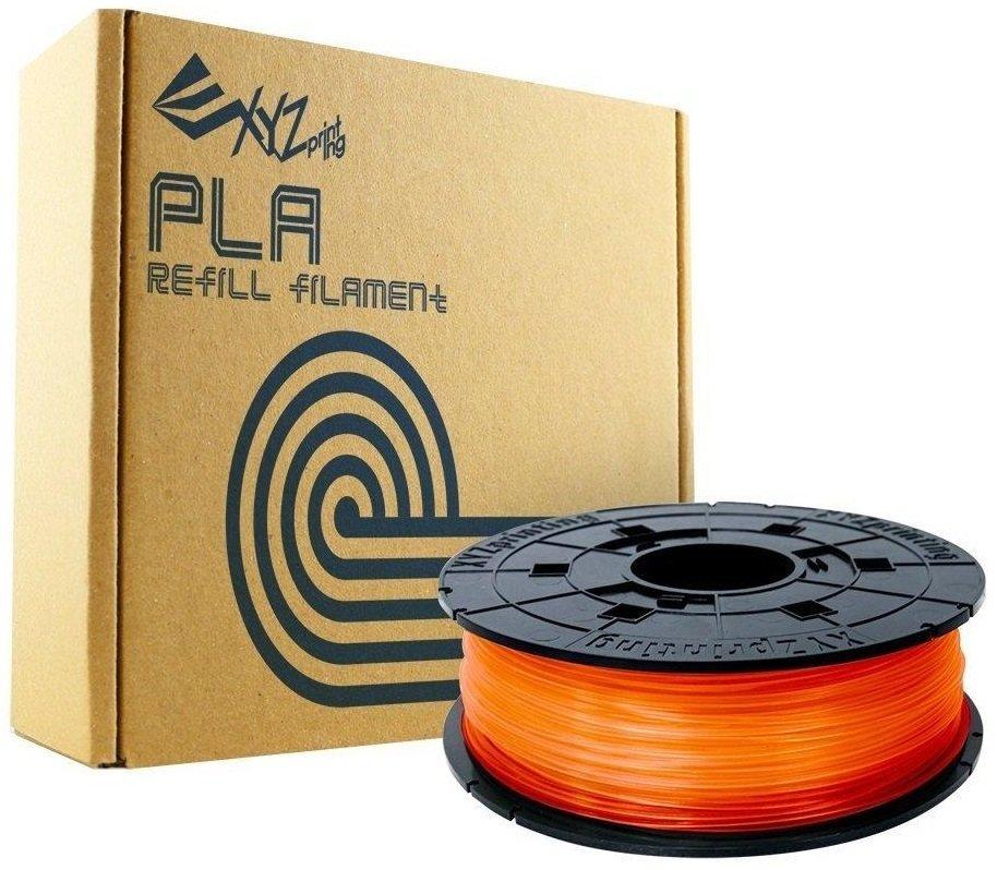Катушка с нитью XYZprinting 1.75мм/0.6кг PLA Filament Прозрачный оранжевый фото