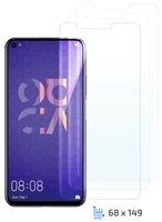 Комплект защитных стёкол 2E для Honor 20 Pro/Huawei nova 5T 2.5D FCFG Black border