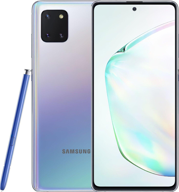 Смартфон Samsung Galaxy Note 10 Lite 6/128Gb Silver фото 1