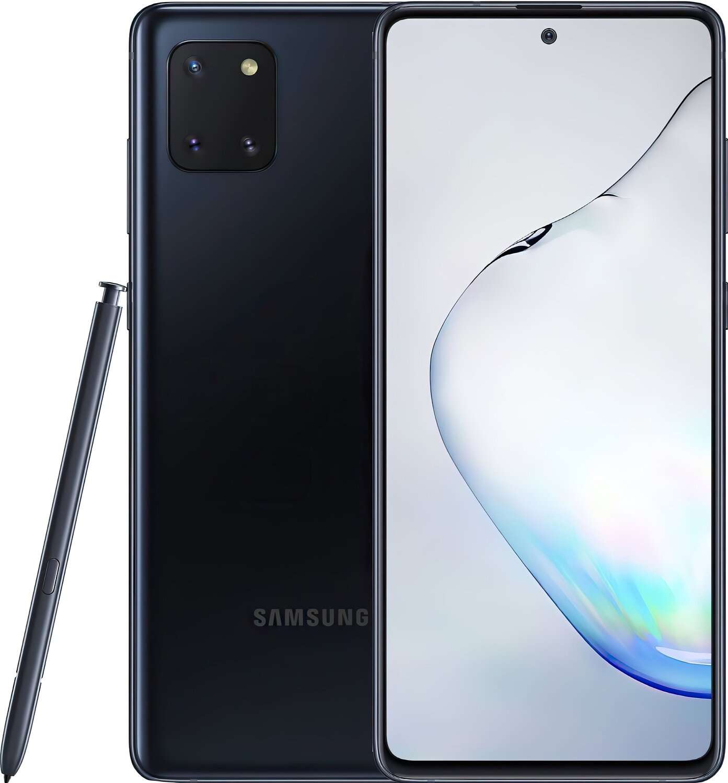 Смартфон Samsung Galaxy Note 10 Lite 6/128Gb Black фото 1