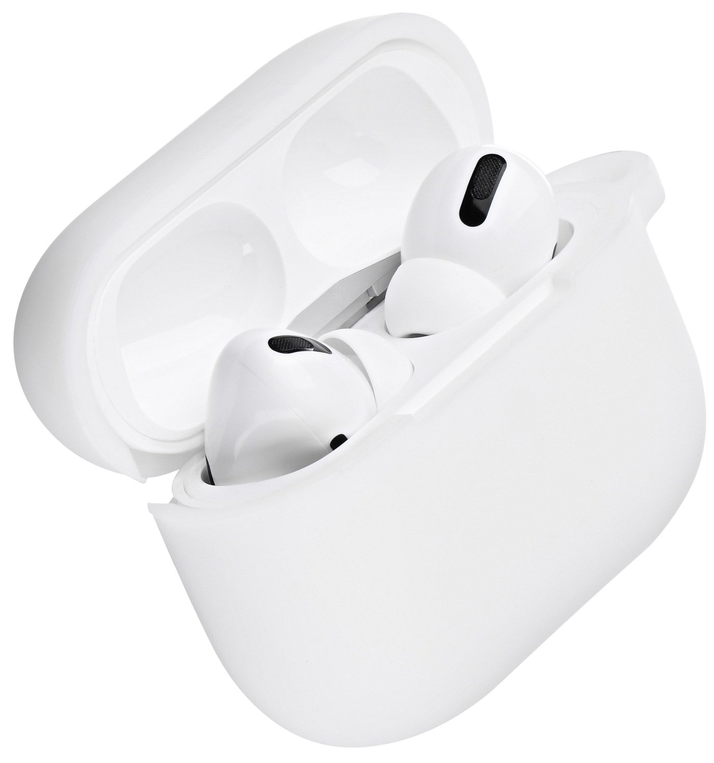 Чехол 2Е для Apple AirPods Pro Pure Color Silicone (2.5mm) White фото 1