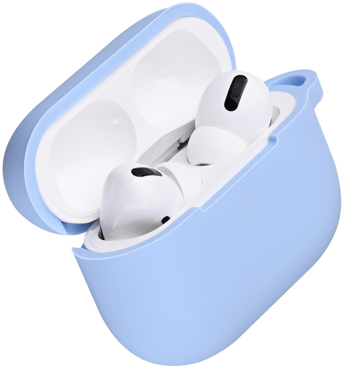Чехол 2Е для Apple AirPods Pro Pure Color Silicone (2.5mm) Sky Blue фото 1