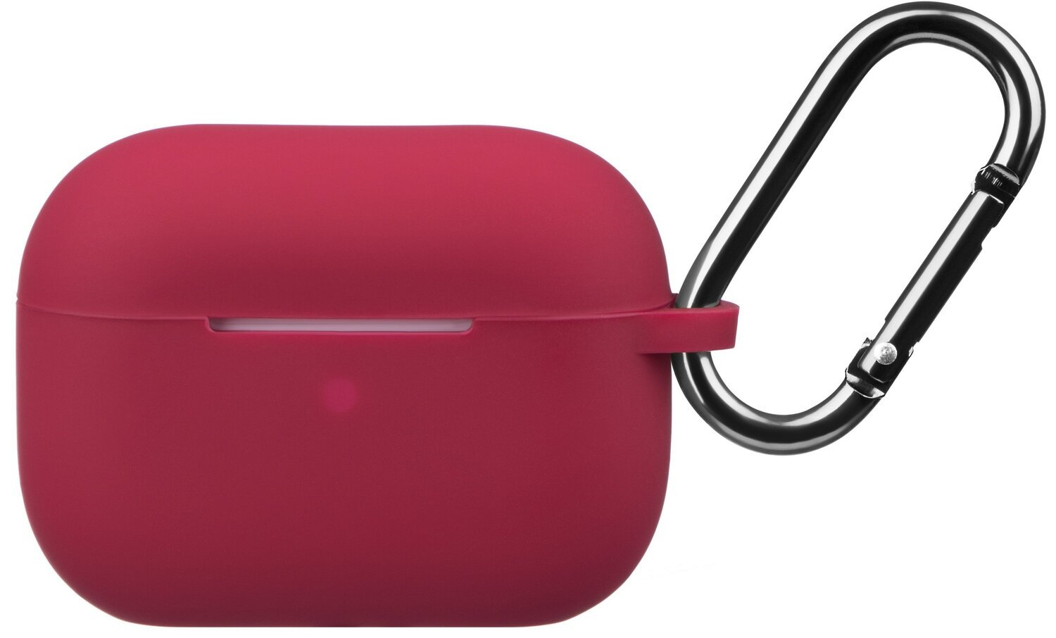 Чехол 2Е для Apple AirPods Pro Pure Color Silicone (2.5mm) Cherry Red фото 1