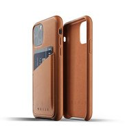 Чехол кожаный MUJJO для iPhone 11 Pro Full Leather Wallet Tan