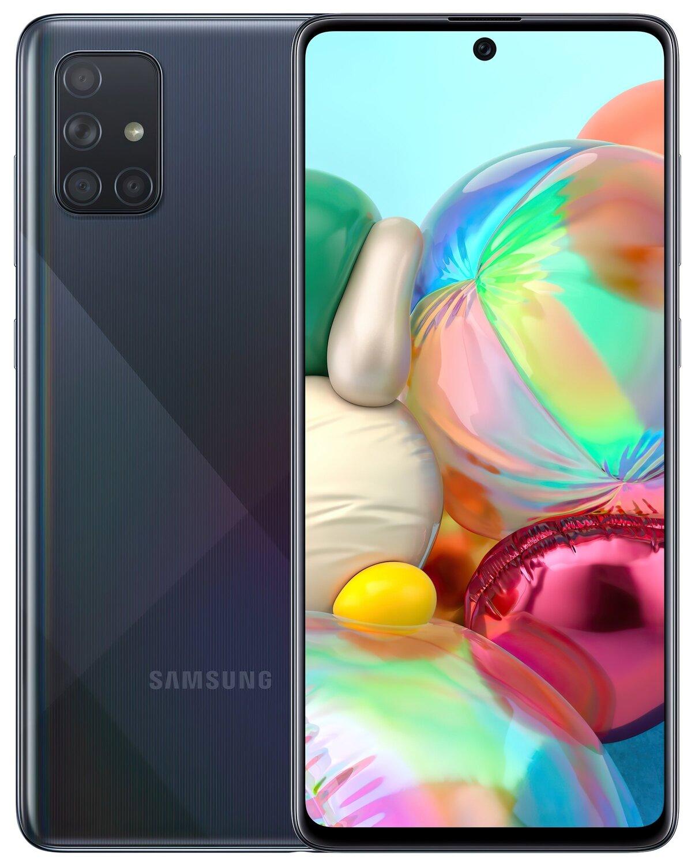 Смартфон Samsung Galaxy A71 A715F Black фото 1