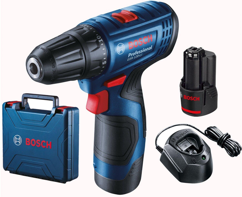 Акумуляторний дриль-шуруповерт Bosch GSR 120-LI Professional фото1
