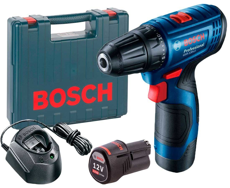 Акумуляторний дриль-шуруповерт Bosch GSR 120-LI Professionalфото