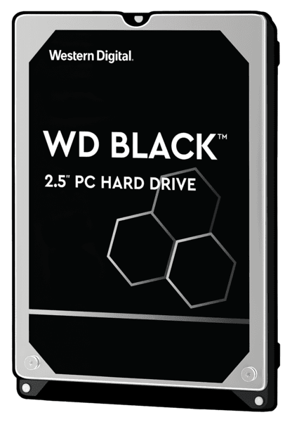 Купить Внутренние жесткие диски, Жесткий диск внутренний WD 2.5 SATA 3.0 1TB 7200 64MB Black (WD10SPSX)
