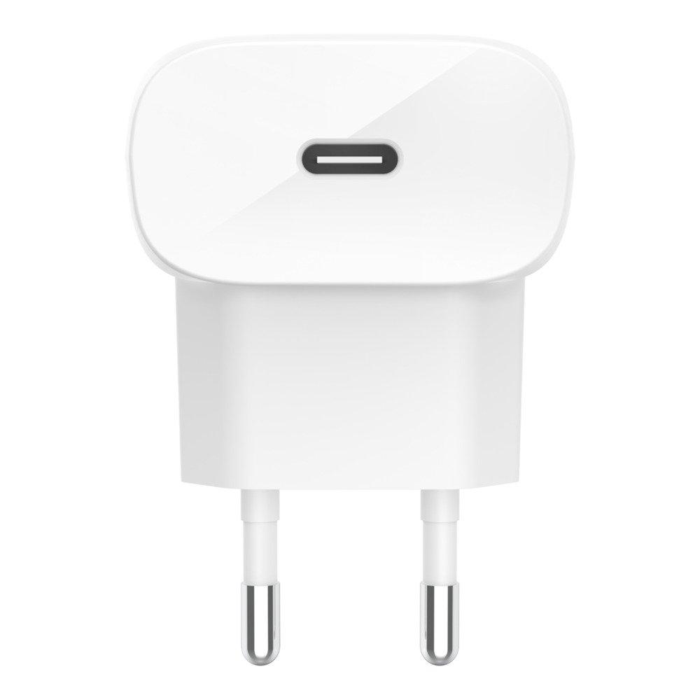 Сетевое зарядное устройство Belkin Home Charger (18W) Power Delivery Port USB-C, white фото 1