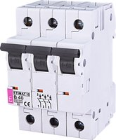 Авт. выключатель ETI ETIMAT 10 3p B 40А (10 kA)