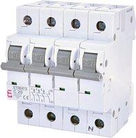 Авт. выключатель ETI ETIMAT 6 3p + N C 20А (6 kA)