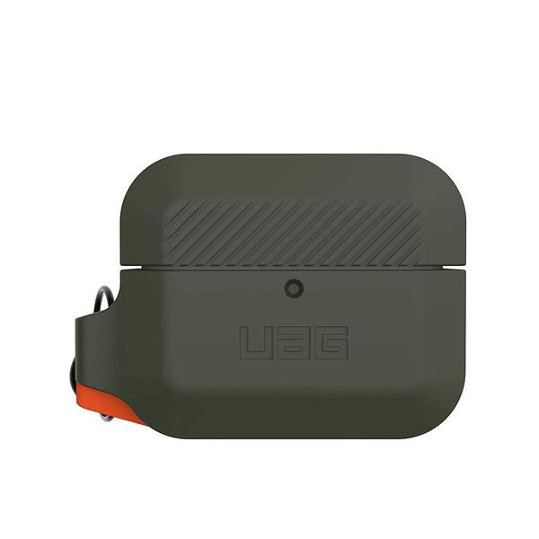 Чехол UAG для Airpods Pro Silicone Olive Drab/Orange