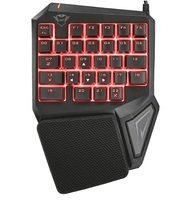 Клавиатура Trust для одной руки GXT 888 Assa RGB Black (22881_TRUST)