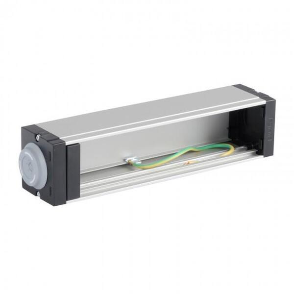 Купить Реле, таймеры, фотоконтроллеры, регуляторы, Блок распределения питания LSC3 Legrand Mosaic PDU 10 1U пустой, под 8 модулей