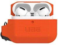 Чехол UAG для Airpods Pro Silicone Orange/Black (10225K119740)