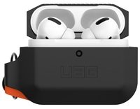 Чехол UAG для Airpods Pro Silicone Black/Orange