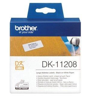 Картридж Brother для специализированного принтера QL-1060N/QL-570/QL-800 (большие адресные наклейки) (DK11208)